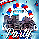 MLK Weekend Flyer Template - GraphicRiver Item for Sale