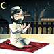 Muslim Praying - GraphicRiver Item for Sale