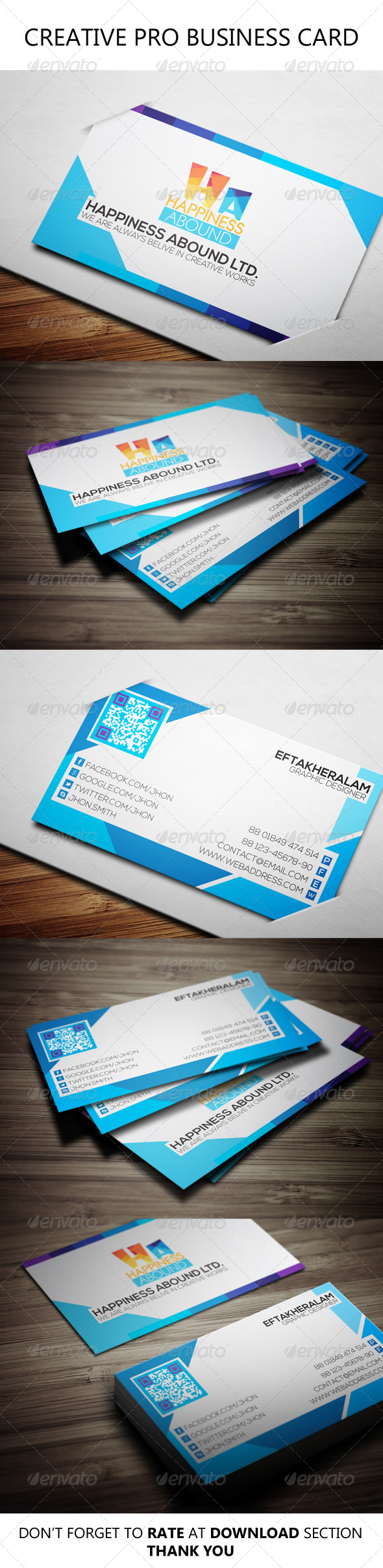 GraphicRiver Creative Pro Business Card 6481778