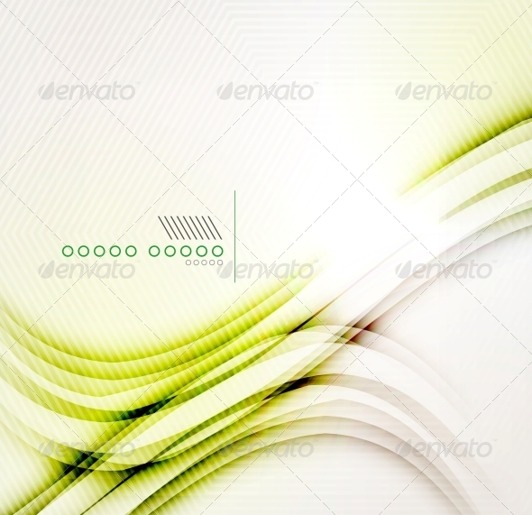 GraphicRiver Yellow Abstract Shadow Wave Background 6512728