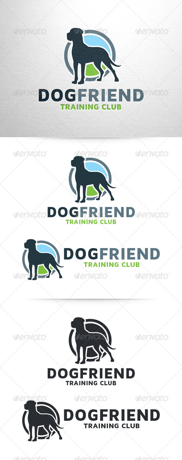 GraphicRiver Dog Friend Logo Template 6512897
