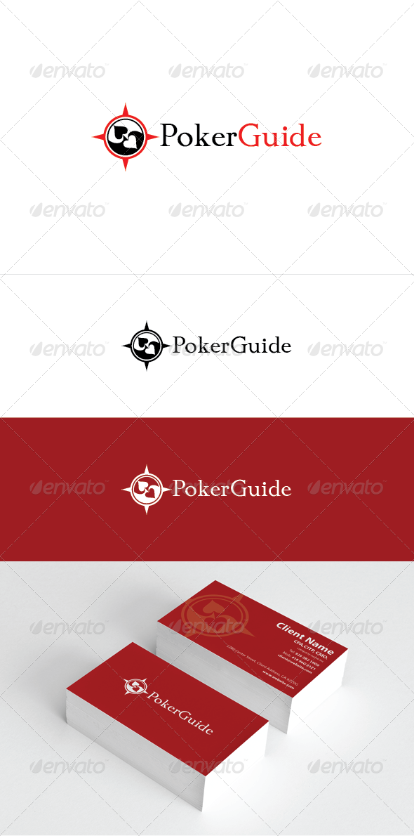Poker Guide Logo Template - Objects Logo Templates