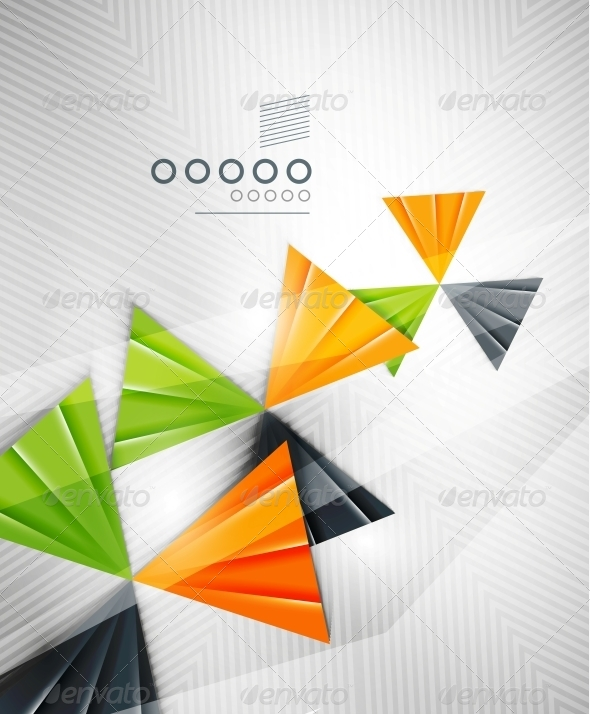 GraphicRiver Geometric Shape Abstract Triangle Background 6513058