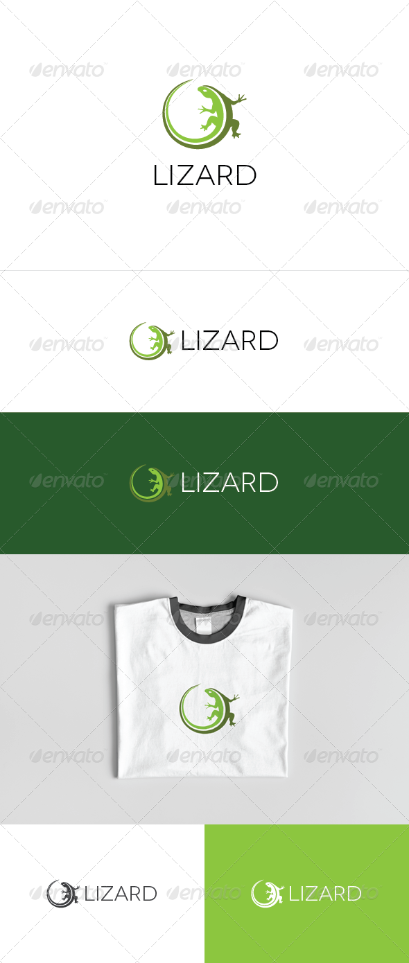 Lizard Logo - Animals Logo Templates