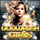 Goldrush Girls Club Party Flyer Template - GraphicRiver Item for Sale