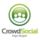 Crowd Social Logo - GraphicRiver Item for Sale