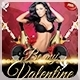 Be my Valentine - Valentine's Day Flyer - GraphicRiver Item for Sale