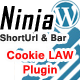 Cookie Law  bottom fix bar - Ninja Bar Plugin - CodeCanyon Item for Sale