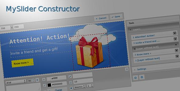 CodeCanyon MySlider Constructor 6490578