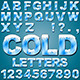 Ice Cold Letters - GraphicRiver Item for Sale