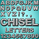 Chiseled Letters - GraphicRiver Item for Sale