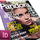 Pandora Magazine InDesign Template - GraphicRiver Item for Sale
