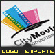 Corporate Logo - City Movie Productions - GraphicRiver Item for Sale