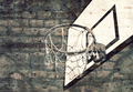 Urban Grunge Basketball - PhotoDune Item for Sale