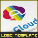 Cloud App Download Logo Template - GraphicRiver Item for Sale
