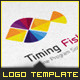 Corporate Logo - Timing Fish - GraphicRiver Item for Sale