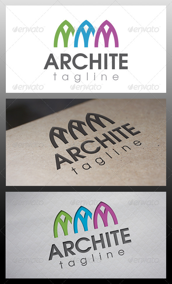 GraphicRiver Architects Studio Logo 6518678