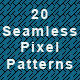 20 Seamless Pixel Patterns - GraphicRiver Item for Sale
