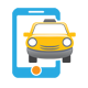 Mobile Taxi Logo - GraphicRiver Item for Sale