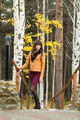 Charming girl in the autumn forest - PhotoDune Item for Sale