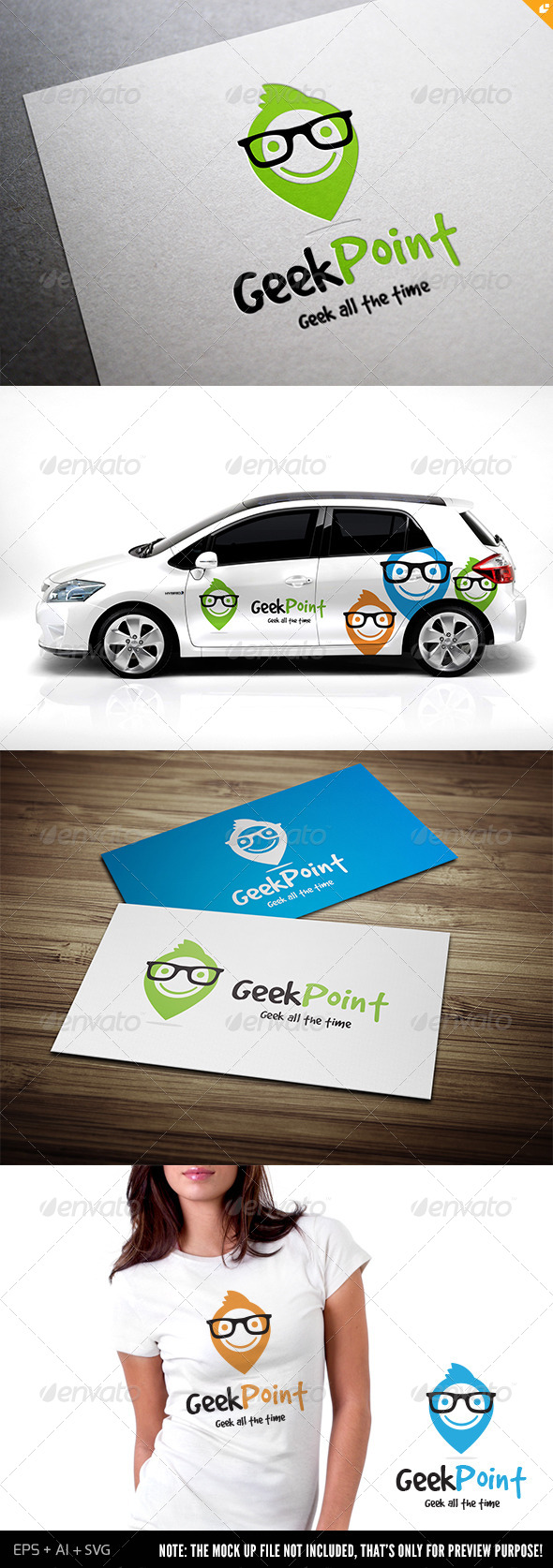 GraphicRiver Geek Point 6520538