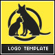 Cats and Dogs Logo Template - GraphicRiver Item for Sale