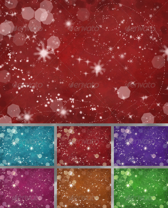 GraphicRiver Christmas Snowflakes Background 6520578