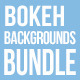 Bokeh Backgrounds Bundle 摄-Graphicriver中文最全的素材分享平台
