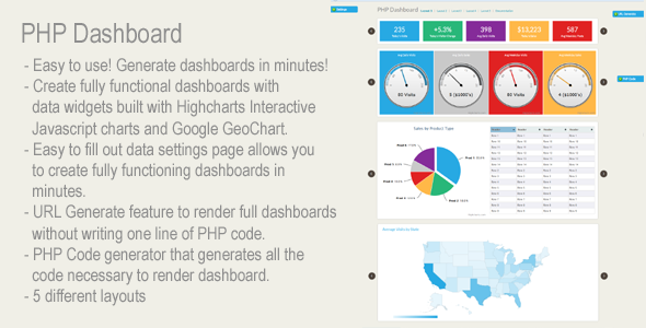 CodeCanyon PHP Dashboard 6522443