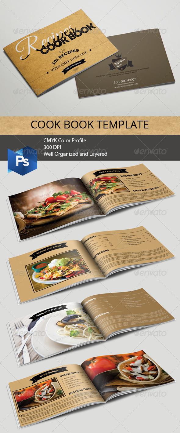 GraphicRiver Cookbook Template 6522597