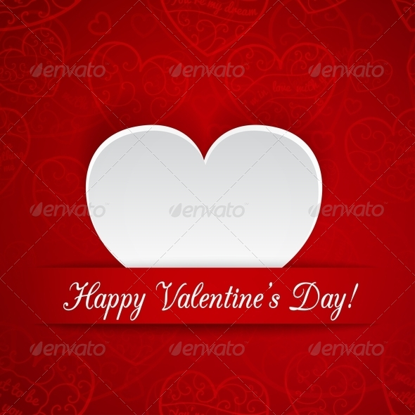 GraphicRiver Greeting Card for Valentine s Day 6522916