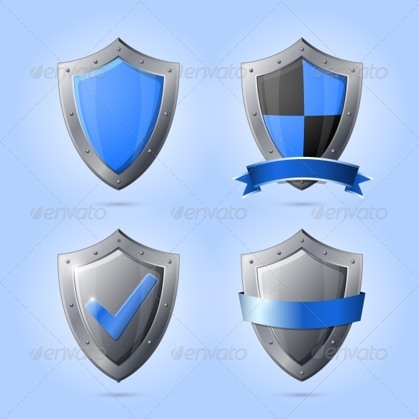 GraphicRiver Collection of Shield Emblems 6523182