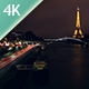 Eiffel Tower by Night - Timelapse 4K - VideoHive Item for Sale