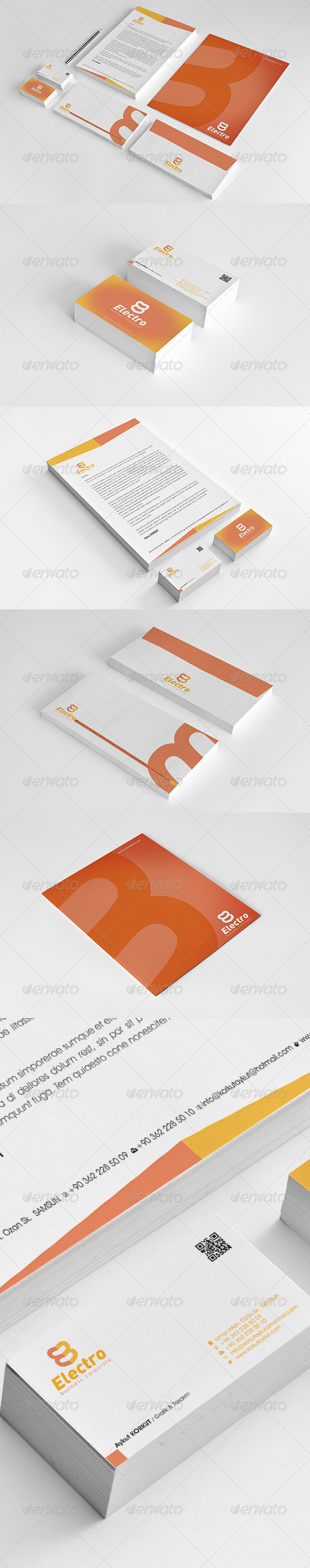 GraphicRiver Electro Corporate Identity Package 6524245
