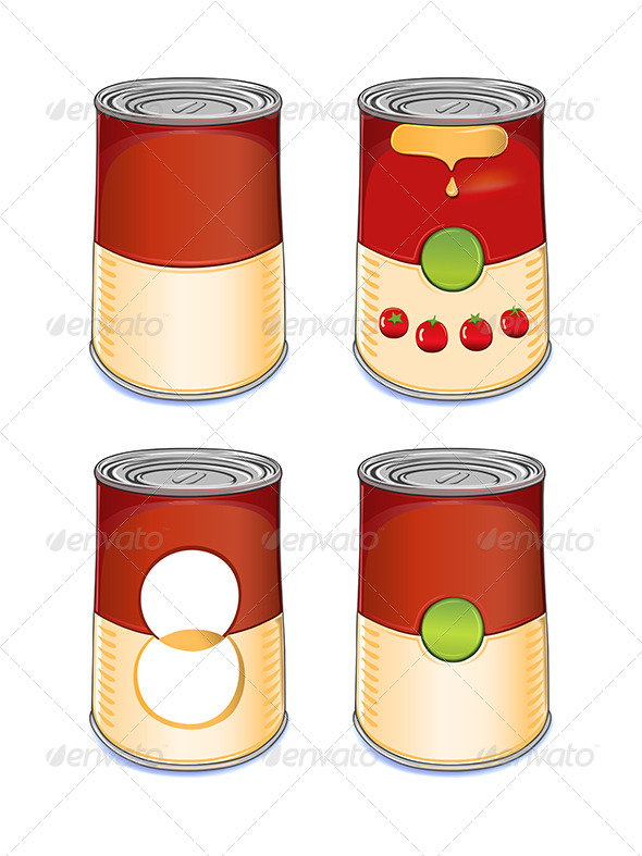 GraphicRiver Template Tin Can Tomato Soup 6524274
