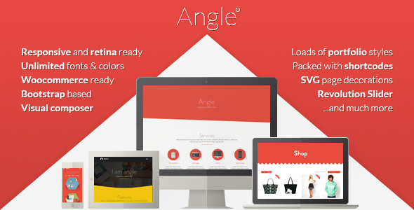 ThemeForest Angle Flat Responsive Bootstrap MultiPurpose Theme 6519550