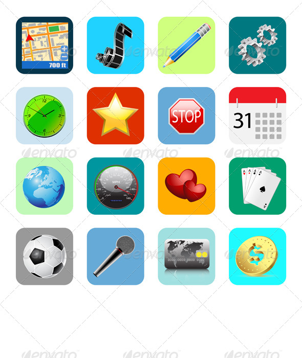 GraphicRiver Internet Web Icons 6525212