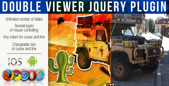 Double Viewer jQuery Plugin - CodeCanyon Item for Sale