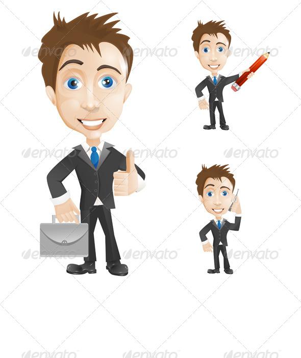 GraphicRiver Businessman 6525982