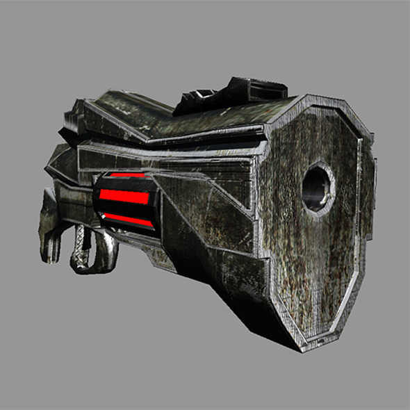 3DOcean Sci-Fi Gun #1 1 of 5 6527046