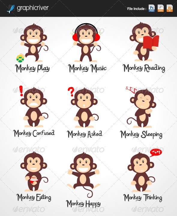 GraphicRiver Monkey 6528622