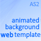 Animated Background Website Template & Animation - ActiveDen Item for Sale