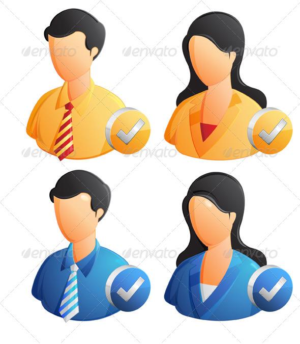 GraphicRiver User Profile Illustration 6530712