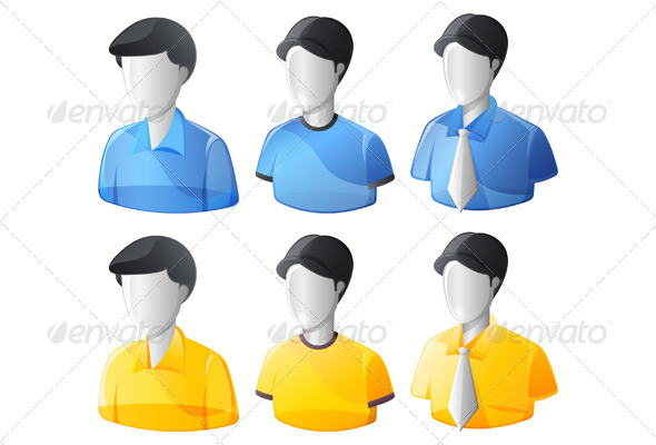 GraphicRiver User Avatars Illustration 6530885