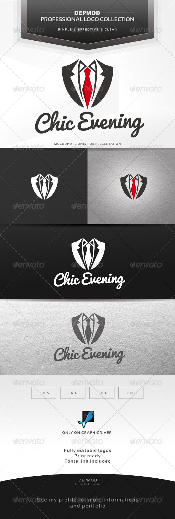 GraphicRiver Chic Evening Logo 6531205