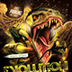 Evolution Electro House Flyer Templete - GraphicRiver Item for Sale