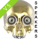 Skull Speaker Eye Renders V5 - GraphicRiver Item for Sale