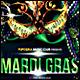 Mardi Gras Poster/Flyer 化-Graphicriver中文最全的素材分享平台