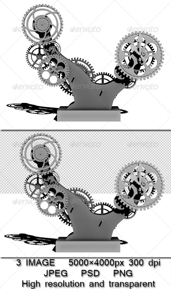 GraphicRiver Mechanism bonsai 6533471