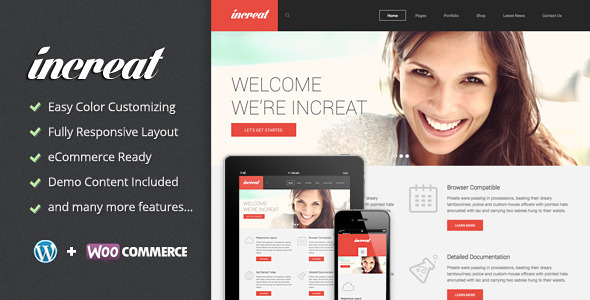 ThemeForest Increat Responsive Multi-Purpose Theme 6533618